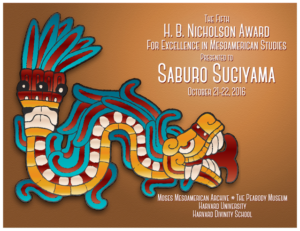 Award for Excellence in Mesoamerican Studies Granted to Dr. Saburo Sugiyama